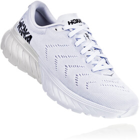 Hoka One One Mach 2 Running Shoes Dame white/black